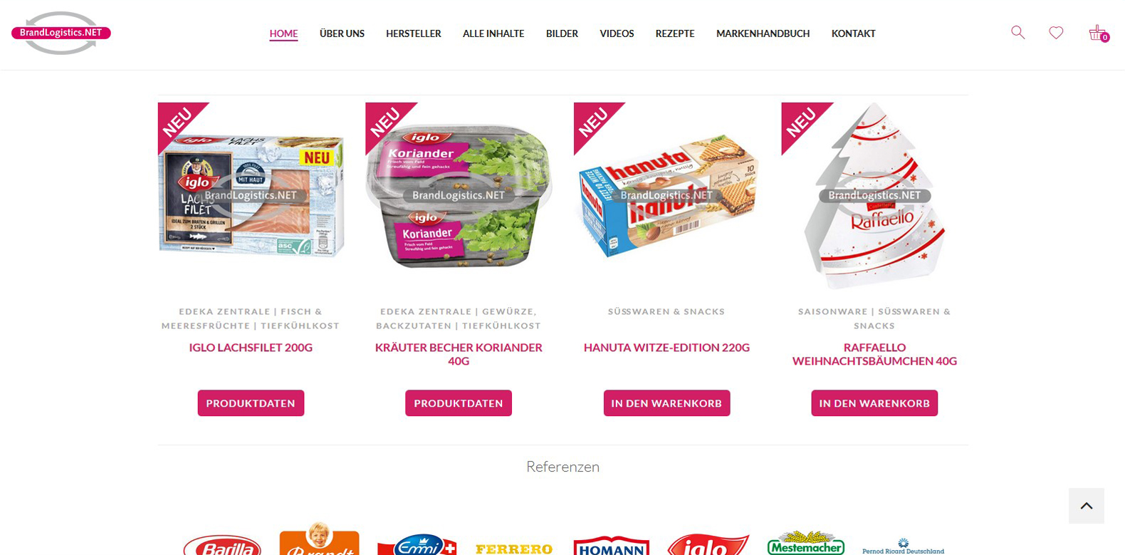 WPITCOM Digital Media Portal Alimentos