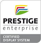 WPITCOM Display Box Software is PRESTIGE certified