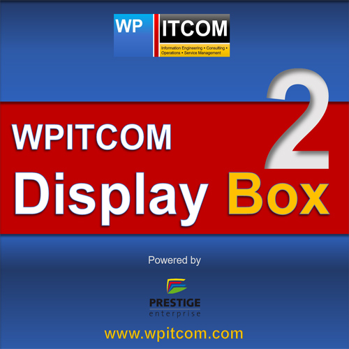 WPITCOM Display Box 2 Software